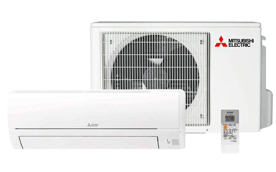 Mitsubishi HR luftvärmepump för AC